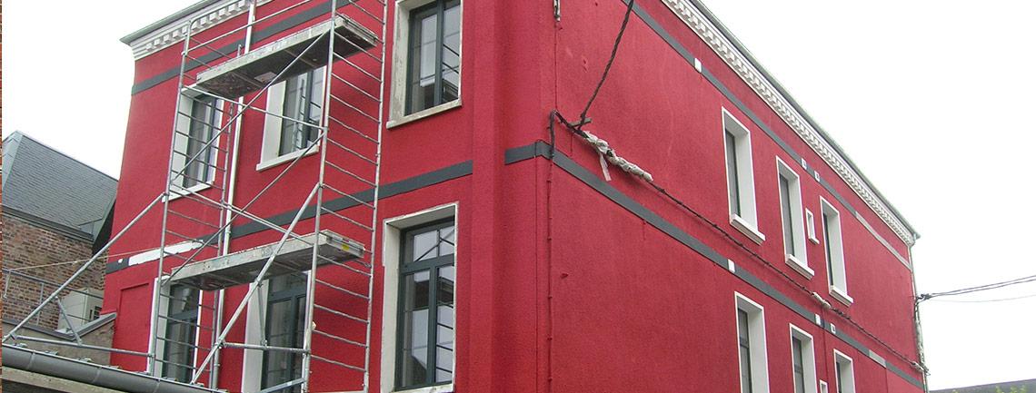 Imperméabilisation et isolation thermique par l'extérieur